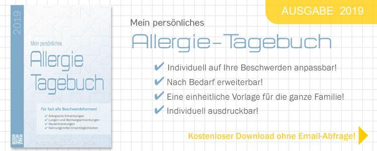 Mein persönliches Allergie-Tagebuch