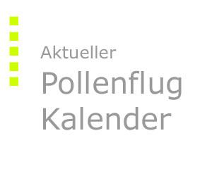 Aktueller Pollenflug-Kalender